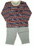 子供服 $A  ★パジャマ:ロケット グレー 95cm