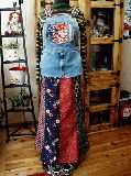 子供服 ◆$ 着物リメイクトップス:140から150�p