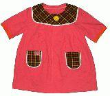 子供服 $FT 大人用 ピンクのチュニック
