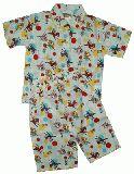 子供服 $A ★レトロなバンビちゃん パジャマ:シロ 80cm