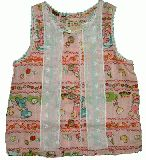 子供服 $A レトロチュニック ピンク 95cm