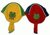 子供服 ●カエルちゃん 耳付きキャップ