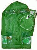 子供服 $A カエルのレインコート
