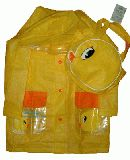 子供服 $A88 ピヨコ レインコート バッグ付き 120cm