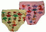 子供服 ●$NRF88A◎女の子用下着 ネコちゃん 90cm