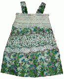 子供服 $A お花柄シャーリング ワンピース 90・100・110cm