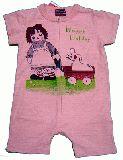 子供服 ●$88A アン&アンディ ロンパース:ピンク 80cm