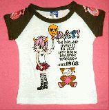 子供服 $A パンクなガールTシャツ 100cm