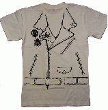 子供服 $●※★88A★だまし絵Tシャツ:ライダース風:子供〜メンズサイズまであるよ