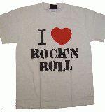 子供服 ?●※ャ★I LOVE★ROCK Tシャツ 80cm〜メンズサイズまであるよ:シロ