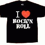 子供服 $●※ャ★I LOVE★ROCK Tシャツ メンズLサイズ