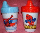 子供服 ♪$ RF88A ★スパイダーマン マグマグコップ