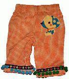 子供服 A$ ミルデベリーさんと コラボっちゃったボトム「勝手に・・」:オレンジ