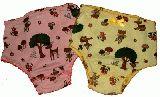 子供服 ●NARF88$◎女の子用下着 キノコ:バンビ柄
