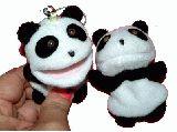 子供服 $88A★パンダちゃん ストラップ&マグネット クリップになります