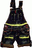 子供服 $ サロペット:キイロファスナー