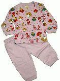 子供服 $A★レトロなバンビチャンパジャマ パープル 80cm