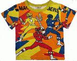 子供服 $A みんなのヒーロー:レンジャー Tシャツ 80cm