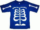 子供服 $ARF★ほねほねTシャツ ブルー 90・100・110cm