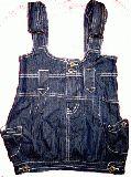 子供服 $A デニム サロペットキャミ 90・95・100・110cm