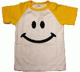 子供服 ARF$●ラグラン スマイルTシャツ 100cm