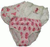 子供服 ●88A$ 3枚セット プリンセスの女の子用下着