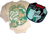 子供服 $RF ★ロンパース&ビブのセット �G