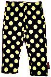 子供服 $ ドット:キイロの 7分丈レギンス