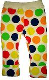 子供服 $A カラフルドット 七分丈ボトム くっきりカラー 80cm