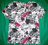 子供服 ?英字なパンク Tシャツ 120から150cm