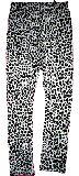 子供服 $ひょう柄 レギンス シロ 120から150cm