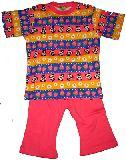 子供服 $A★¥1900 半そで パンダいちご・ボーダー パジャマ