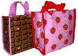 子供服 $※99AN ★¥280 イチゴ&チョコレートな ランチバッグ