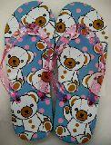 子供服 $88ARF★♪ジビッツが付けれる!大人用 くまちゃん:ビーチサンダル23cmから24.5cm