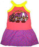 子供服 $A きのこ:ドットな キャミワンピース 95・100・110・120・130cm