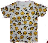 子供服 $●RFA▲リトルミス総柄 Tシャツ 90・100・110cm