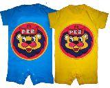 子供服 ライオンちゃん:ロンパース 3色あるよ