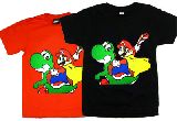 子供服 ?マリオ&ヨッシー Tシャツ 80からメンズサイズまで[7XL」