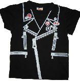 子供服 $※ A★だまし絵:ライダースTシャツ 95cm
