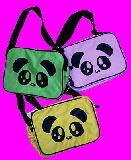 子供服 $※A ャ★かわいい パンダちゃん肩がけバッグ:通園バッグにどーぞ