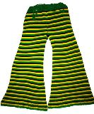 子供服 $ボーダーサマーニットなベルボトム ジャマイカカラー 140〜150cm