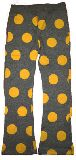 子供服 $A¥1900 ドットなストレッチボトム グレー 95cm