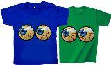 子供服 ※ャ★¥1900〜★目玉ギョロ!「アイボール」両目ちゃん★:Tシャツ 80cm〜メンズまで「7XL」