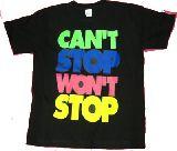 子供服 ★ャ★ダンスの衣装に♪ 『CAN'T STOP・・・』Tシャツ 80からメンズサイズまで[7XL」
