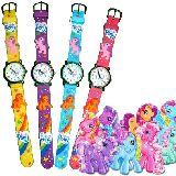 子供服 ※RAA99F ★マイリトルポニー 腕時計 子供から大人まで使えます