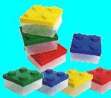子供服 $●※★88★ブロック★タッパー弁当箱 カラー4種類あるよ〜電子レンジ:食洗器オッケイ
