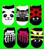 子供服 $※RF88A★ベビーちゃん ソックス:パンダ:てんとう虫:ハチ・・・など