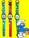 子供服 $※99mRAF※ ★スマーフ 腕時計 お子様から大人まで使えます
