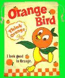 子供服 ※88ANRF※ ★上靴いれにも・・・少し大きめ巾着:オレンジバード