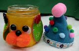 子供服 ◆$★チロルちゃん★ ガラスの瓶のワンコちゃん 小物ケース